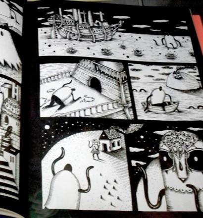 The Art of Comics - Saddo