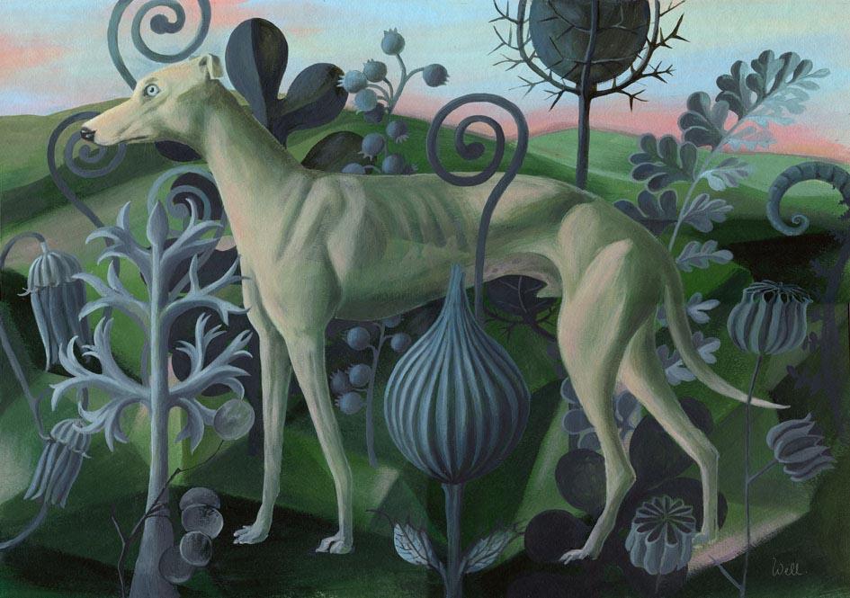 Blossfeldt's Hund - Alice Wellinger