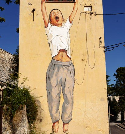 Ernest Zacharevic in Arce by Dante Corsetti