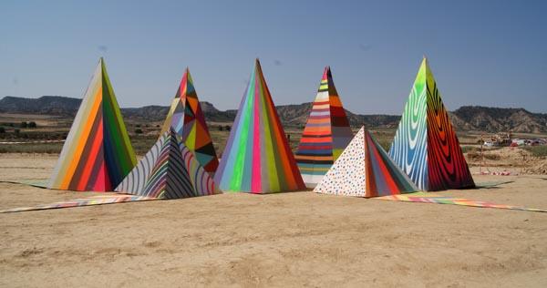Pyramid land