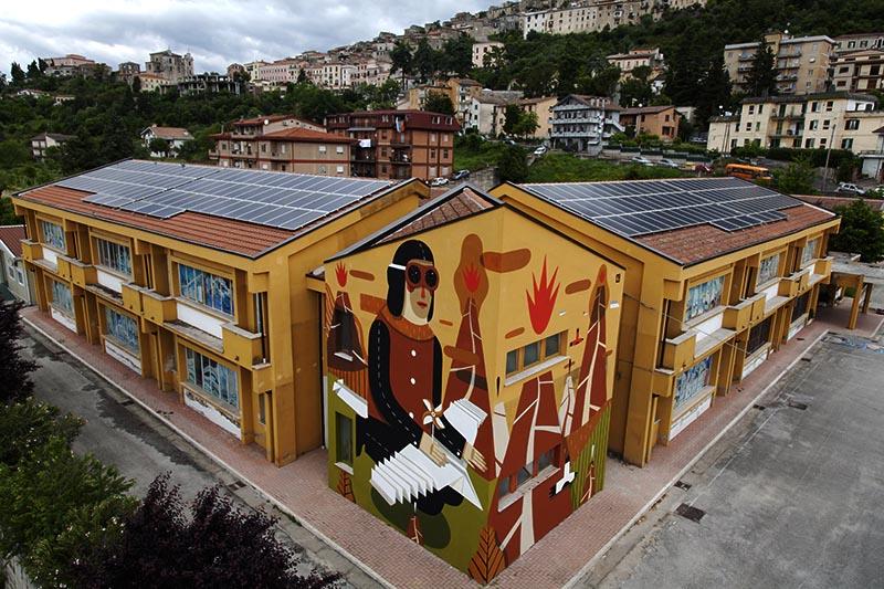 Agostino Iacurci in Arce / Photo: Dante Corsetti