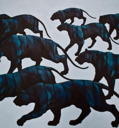 Vinculo Series - Acrylic on Canvas - 155 x 100 cm - 2014