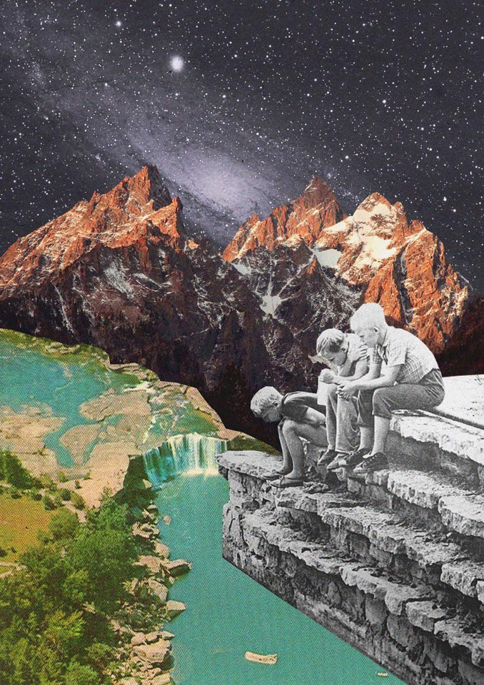 The collages of Mariano Peccinetti - The re:art