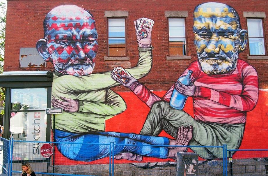 Montreal Mural Festival, 2013