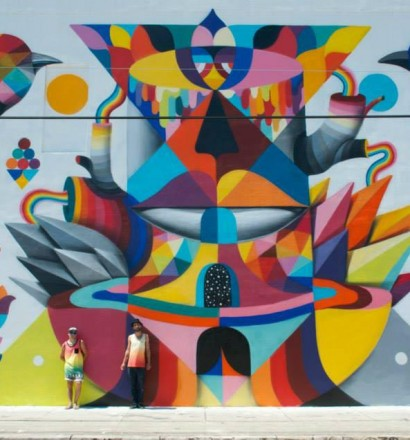 Remed and Okuda, Miami, 2014