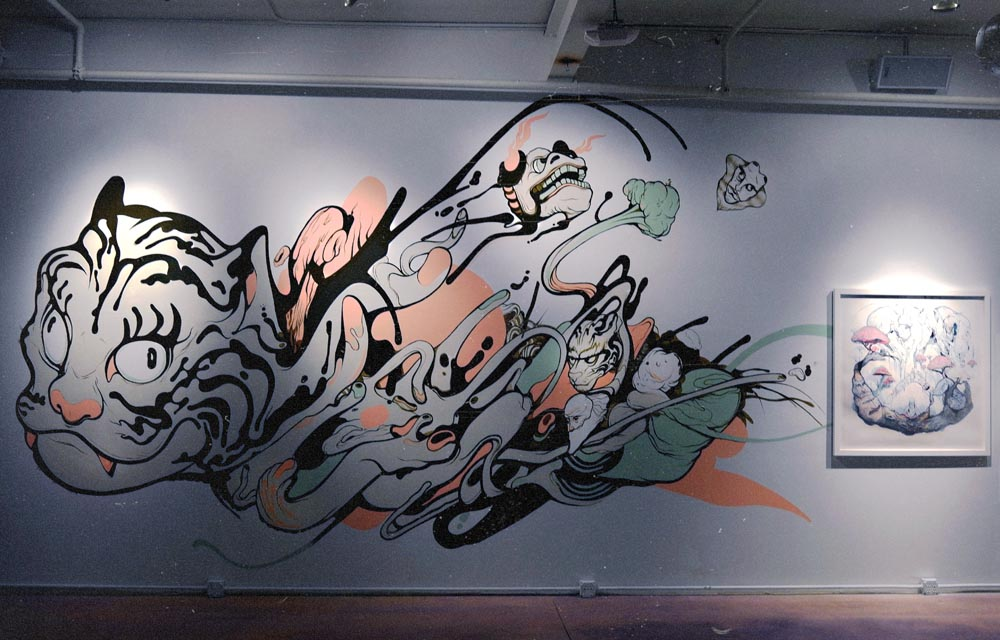 indoor mural