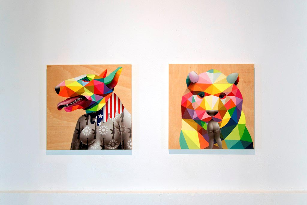 Okuda exhibition