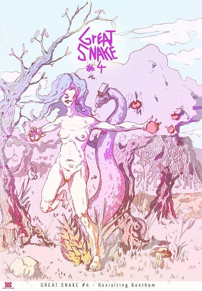 Great snake comics
