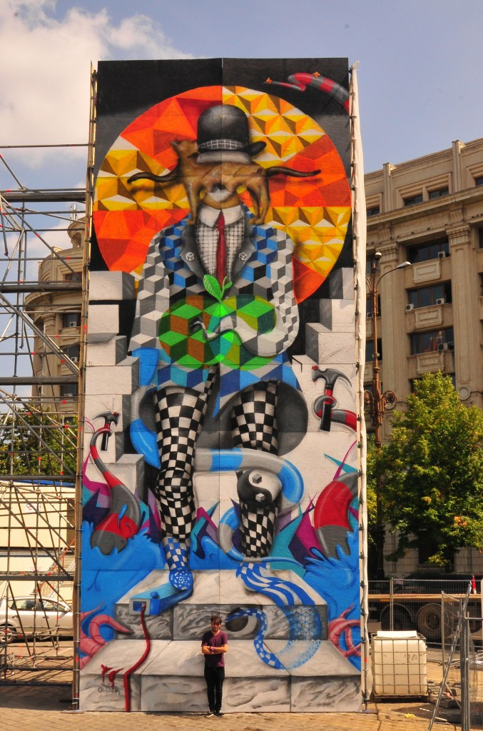 Allan Dalla street art