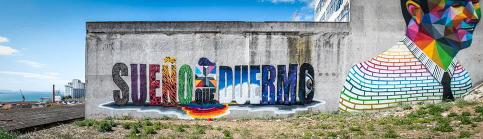 Okudart mural