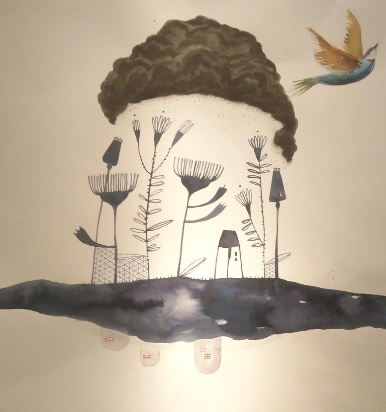 Jocul cu cerneala - Art Yourself Gallery