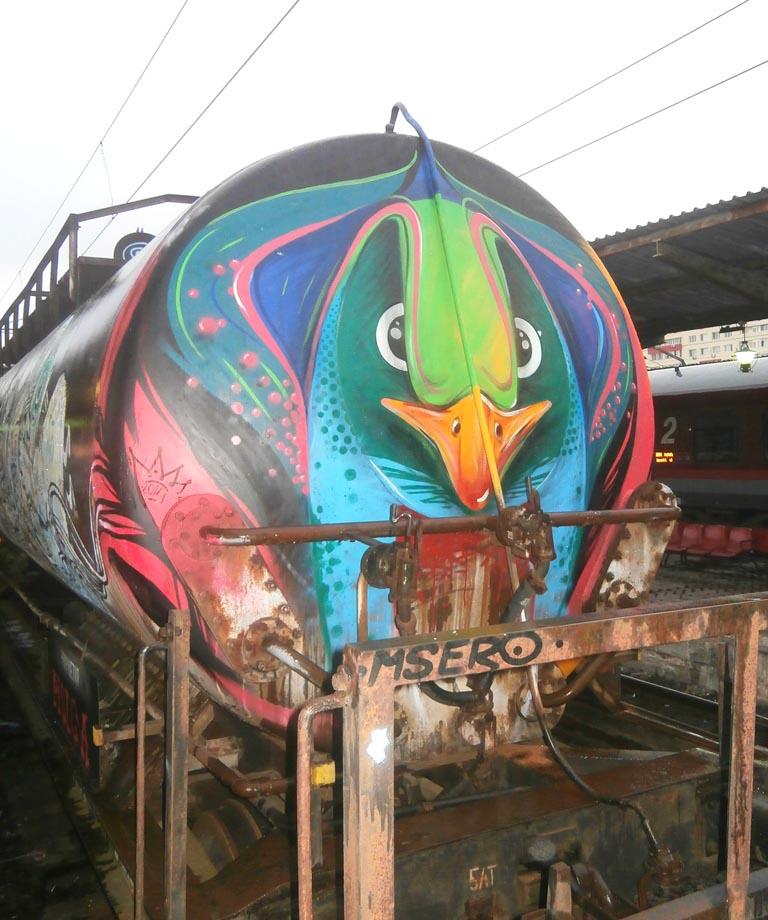 Pass graffiti