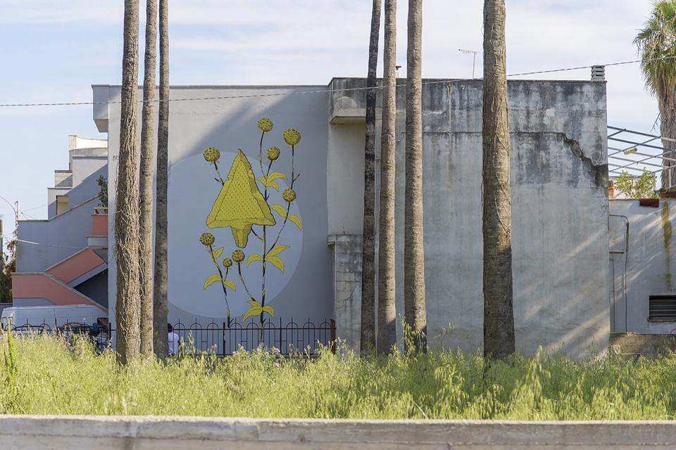 Pastel street art