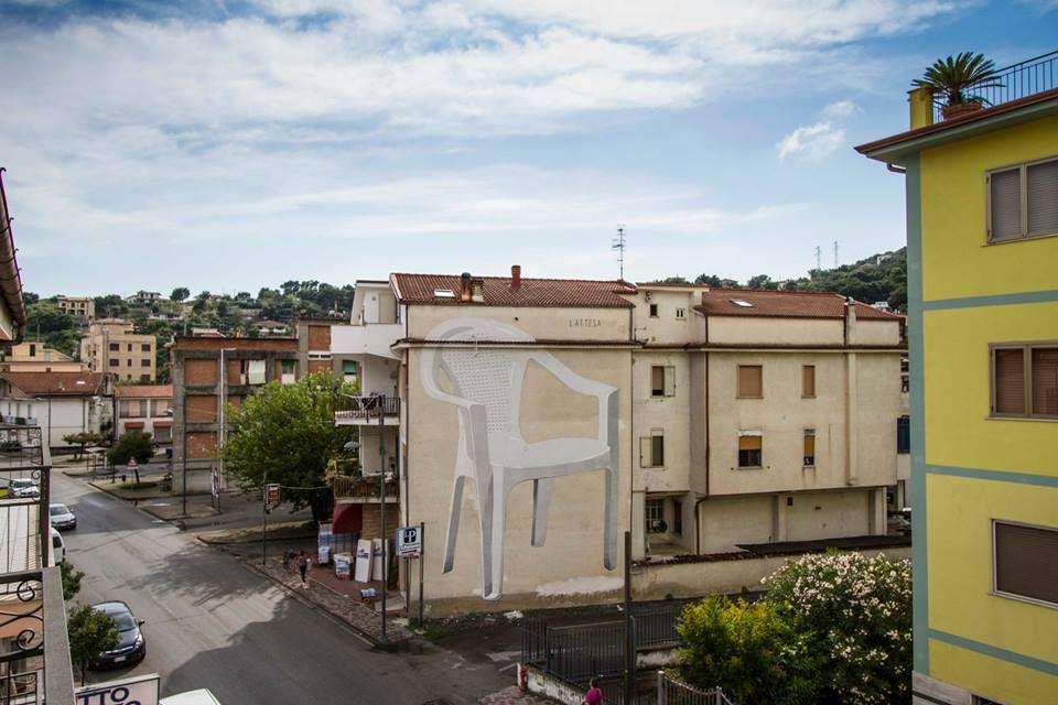 Escif in Italy