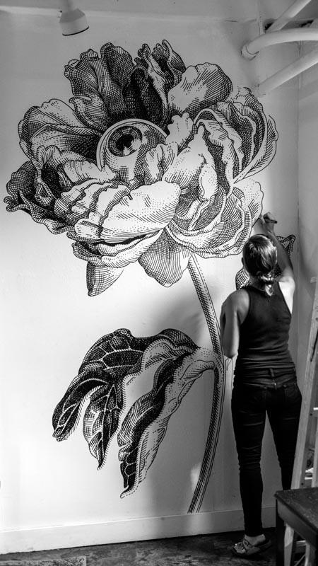 Mural - Ghost Gallery