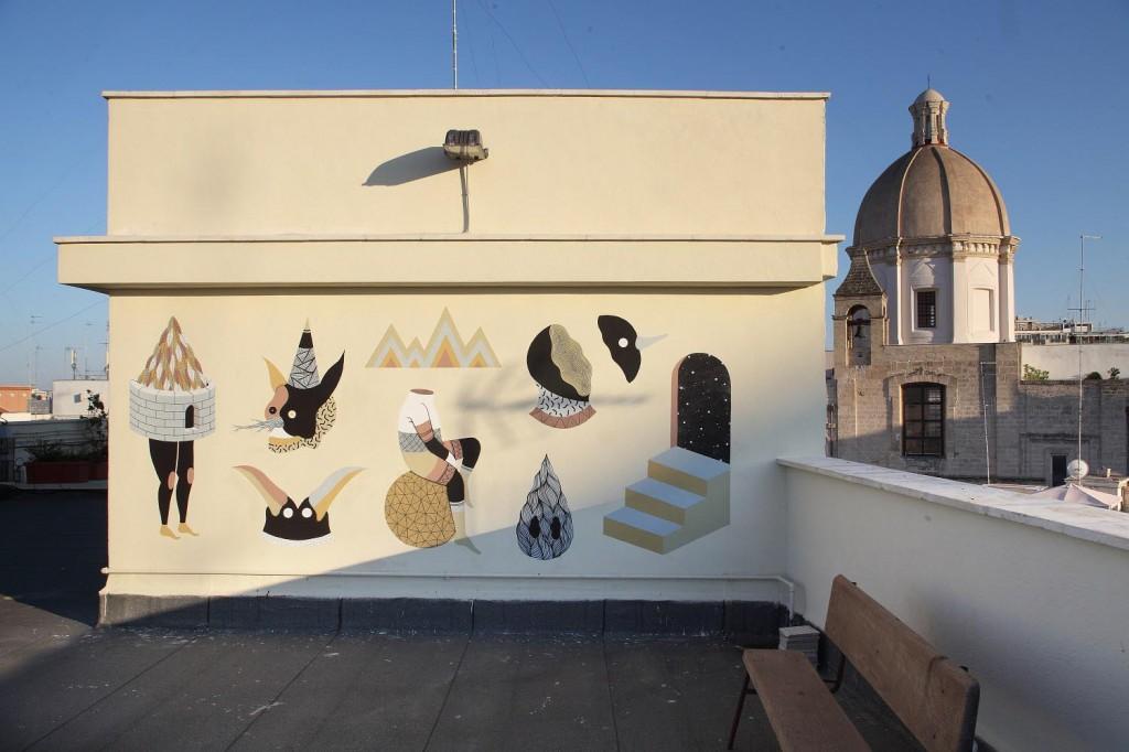 Mural for Fresh Flâneurs