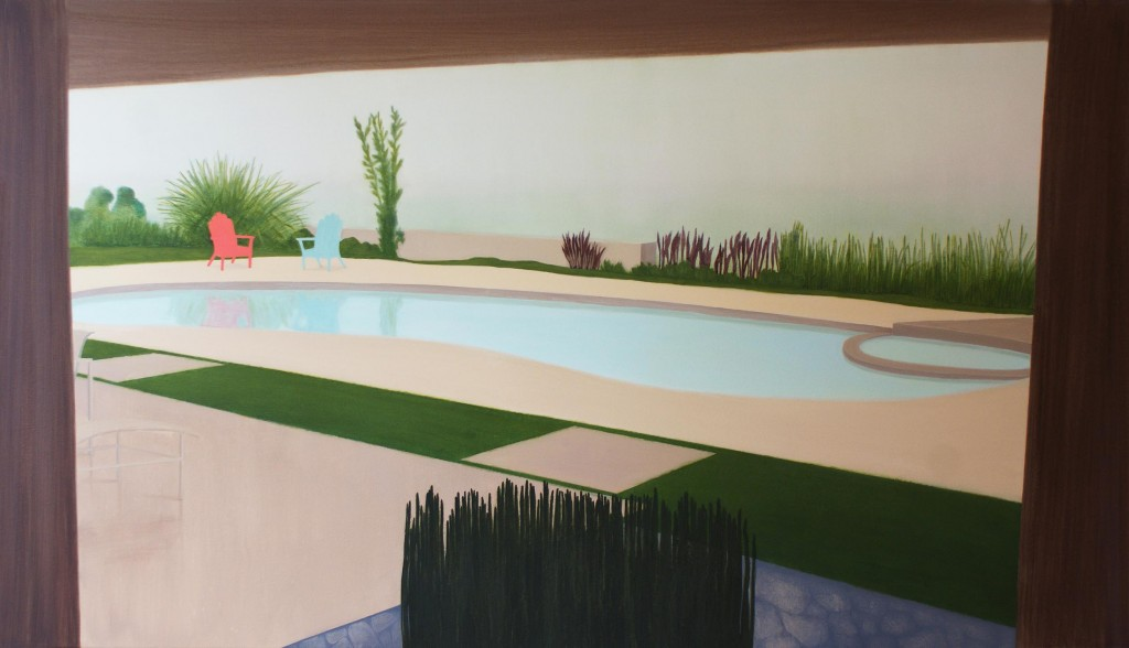 Pool landscape, 2014