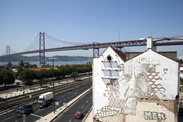 Vhils in Lisbon