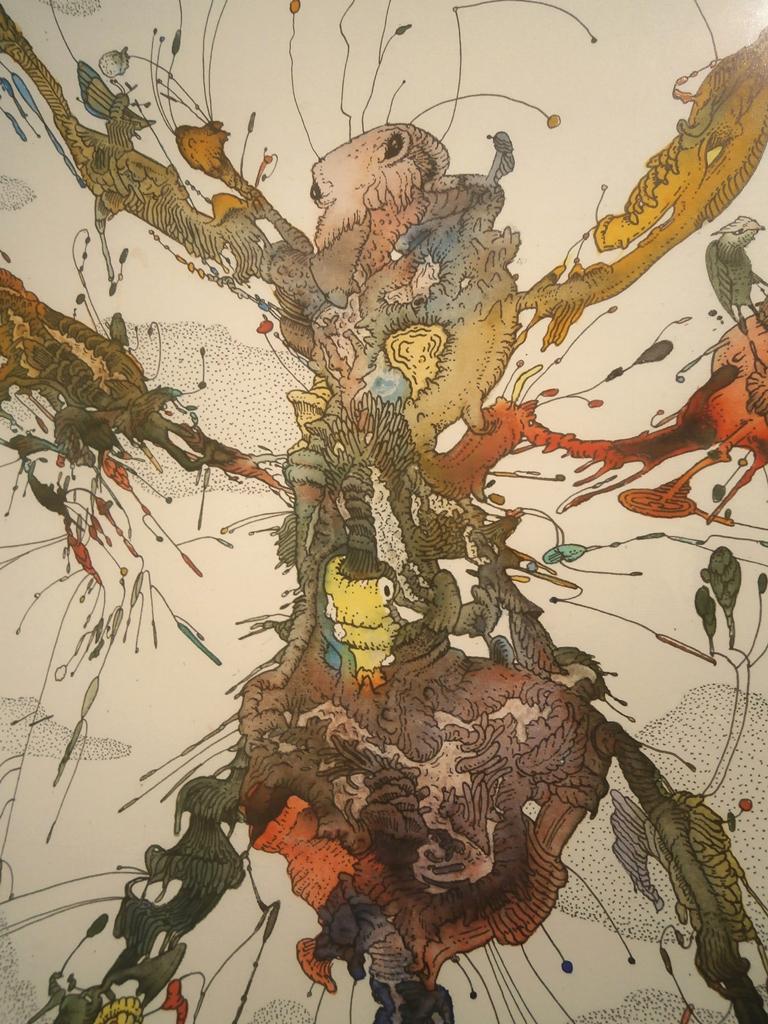 Wild garden (ant) / Detail