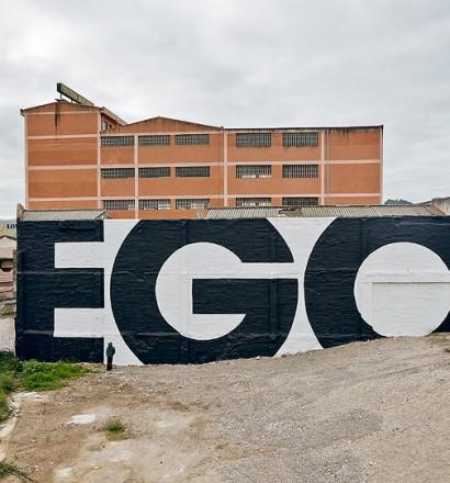 SpY urban art - EGO