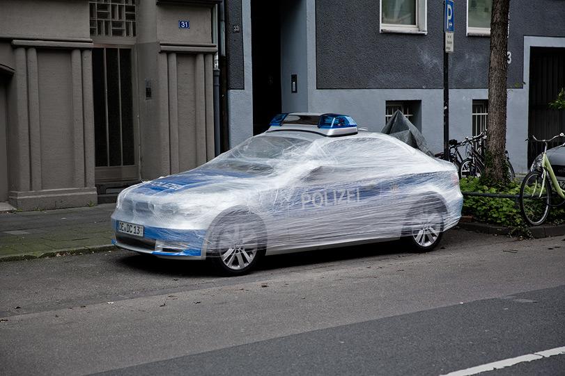 WRAP - police car
