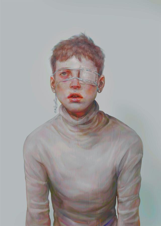 x, digital image, 2014
