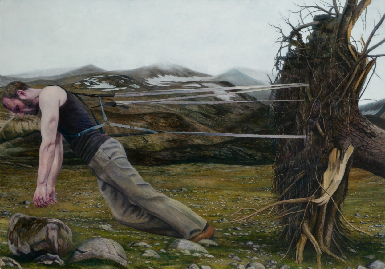 C. Karlstad - Aeon, 180x135 cm