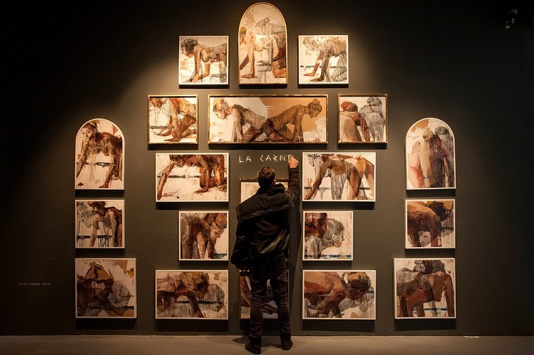 'Animal' exhibition. Image © The Blind Eye Factory