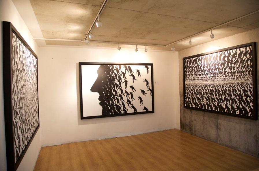 D. de la Mano - Pan Negro @ Itinerrance Gallery