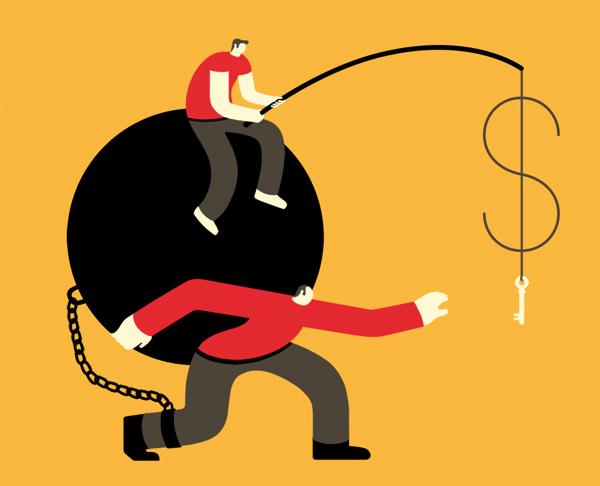 The debt, 2013
