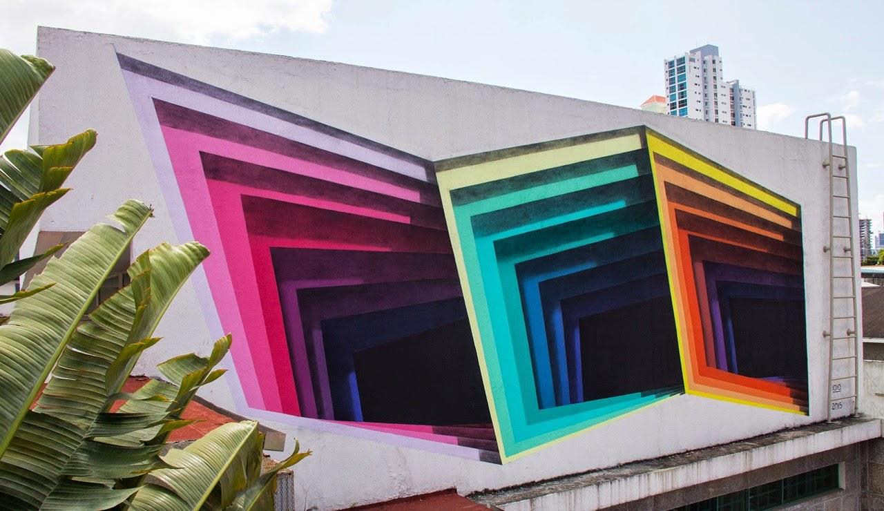 1010 - Mural at Marion Gallery, Panama City
