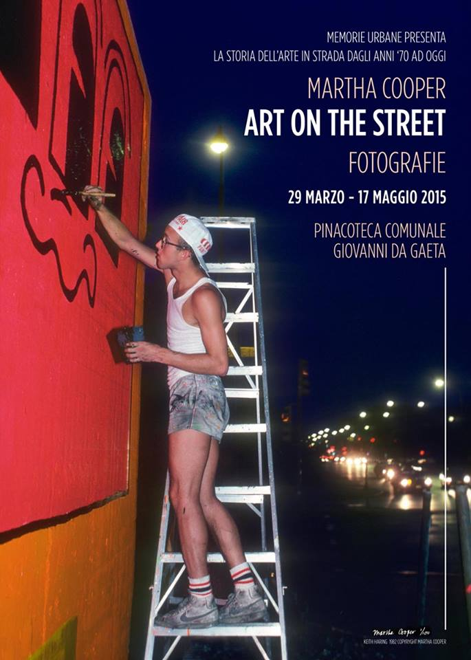 Martha Cooper - Art on the Street / Keith Haring - Photo by Martha Cooper