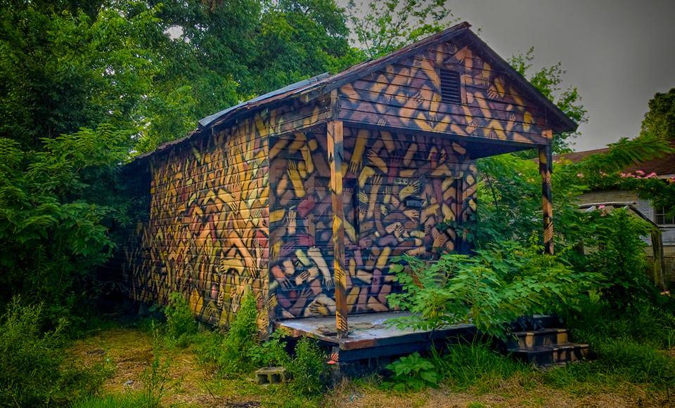 Julien Malland - Museum of Public Art, North Baton Rouge, Louisiana