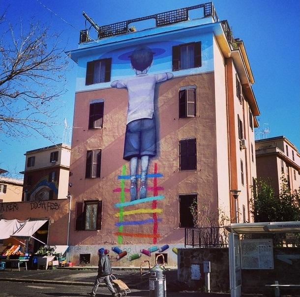 Julien Malland in Rome
