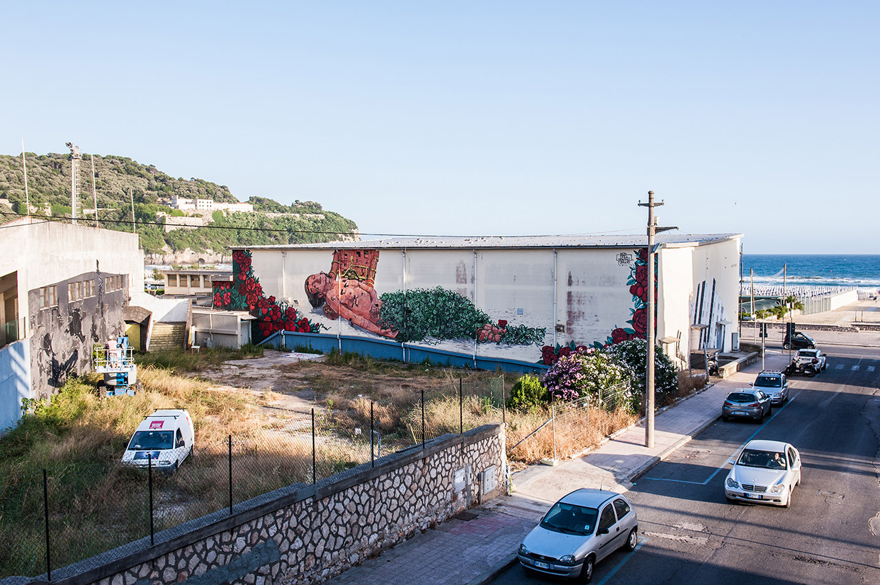 Pixel Pancho in Gaeta / Photo: Flavia Fiengo