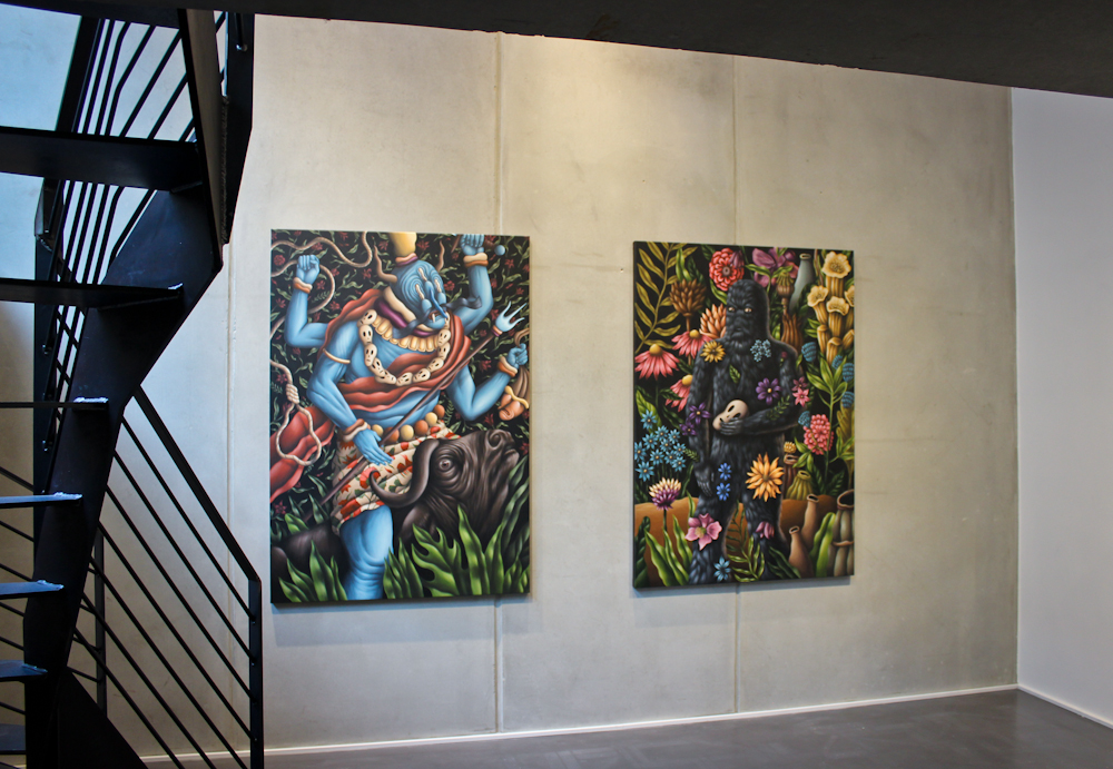 A Stranger in the Garden exhibition - BC Gallery