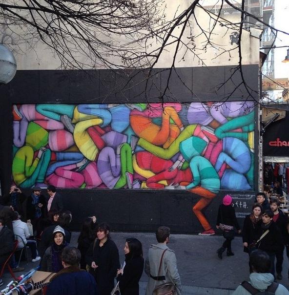 "SETH - ""Streetartism"", at Le M.U.R, Oberkampf, Paris"