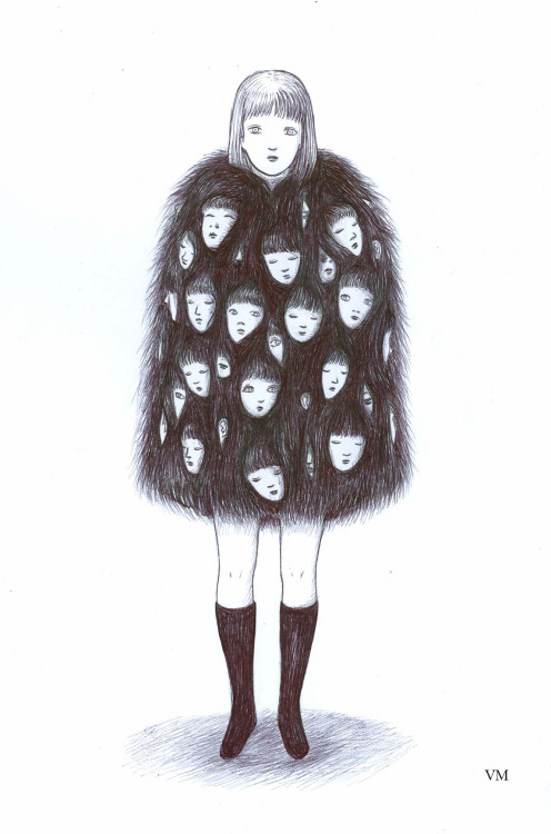 V. Mori - Face in fur, 2015