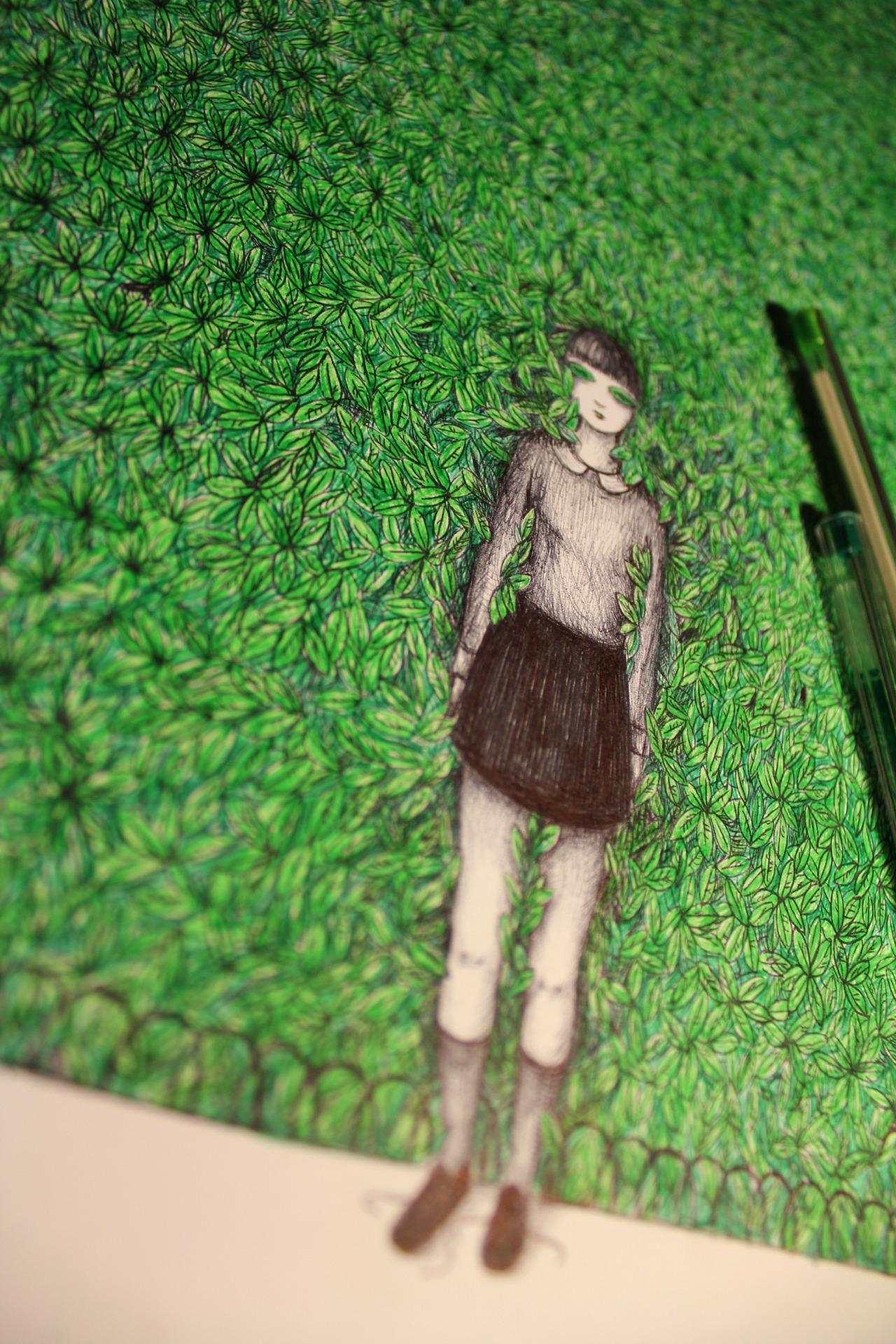 V. Mori - Verde, work in progress, 2015
