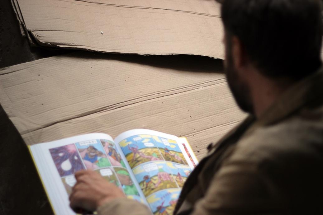 Comics from Librăria Jumătatea Plină