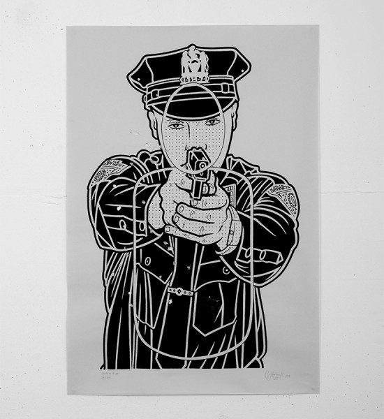 Mike Giant - Cop Killer Print