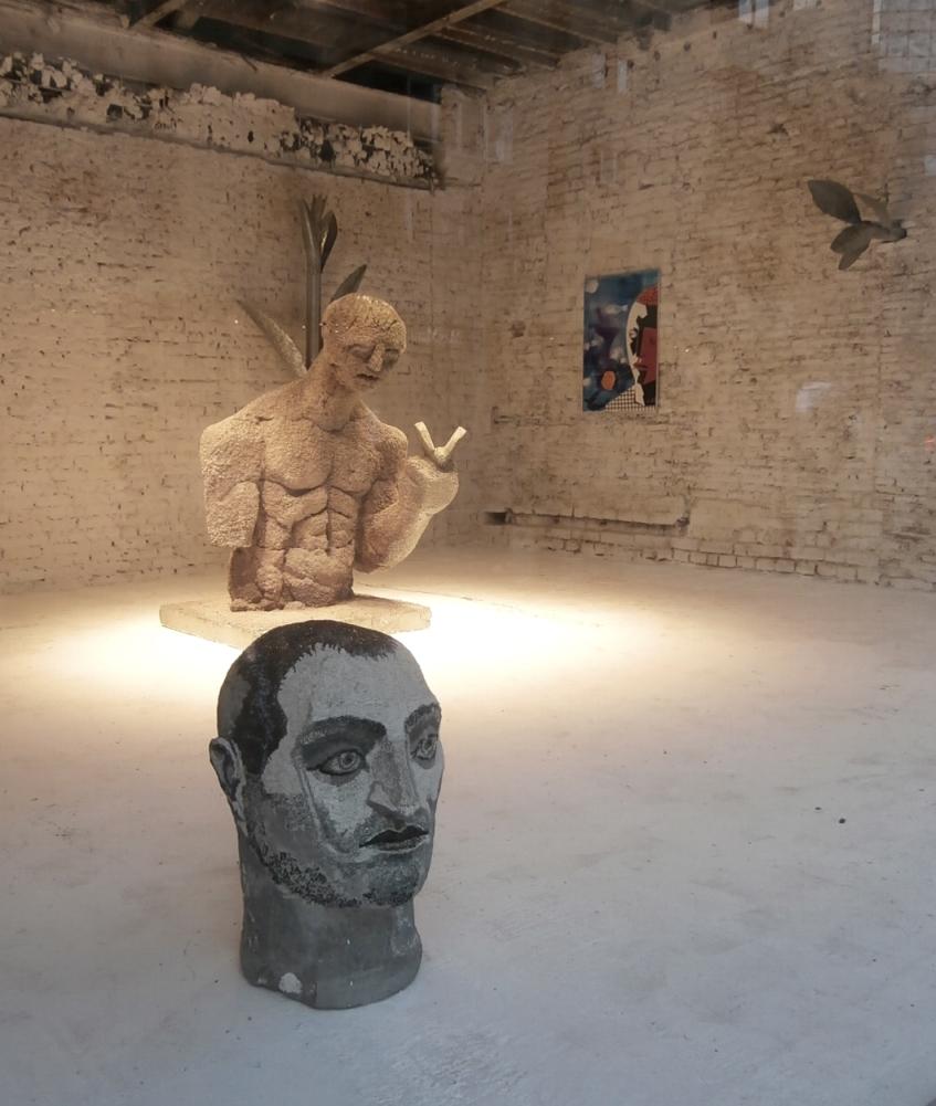 Al. Rădvan - Romantic Tomb for Pasolini