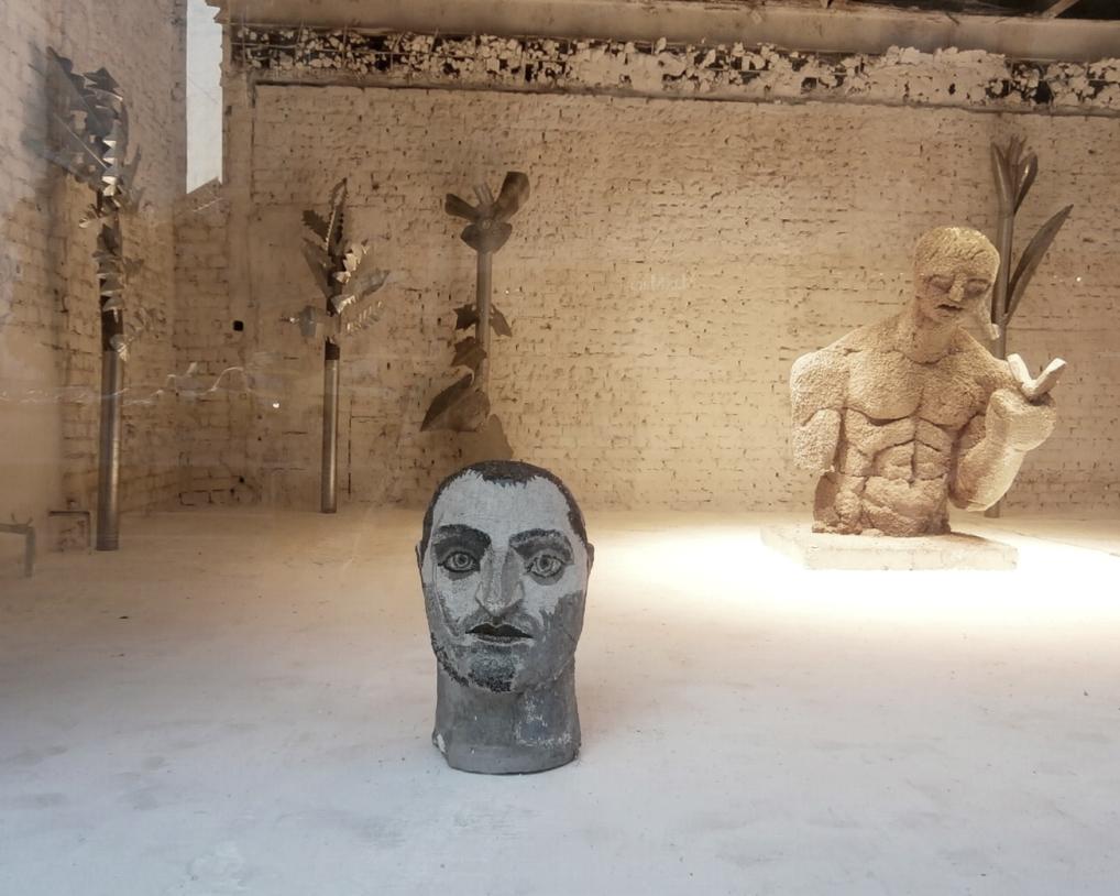 A. Rădvan - Romantic Tomb for Pasolini