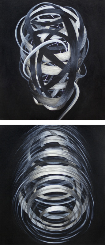 Anemona Crișan - Infinity (double portrait)