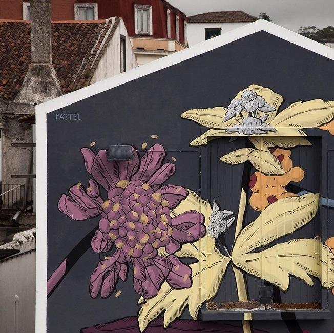 Pastel for Walk&Talk Azores Festival 2015