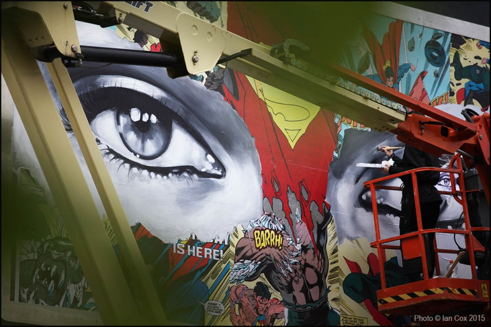 The Aftenblad Wall - Sandra Chevrier / Photo © Ian Cox