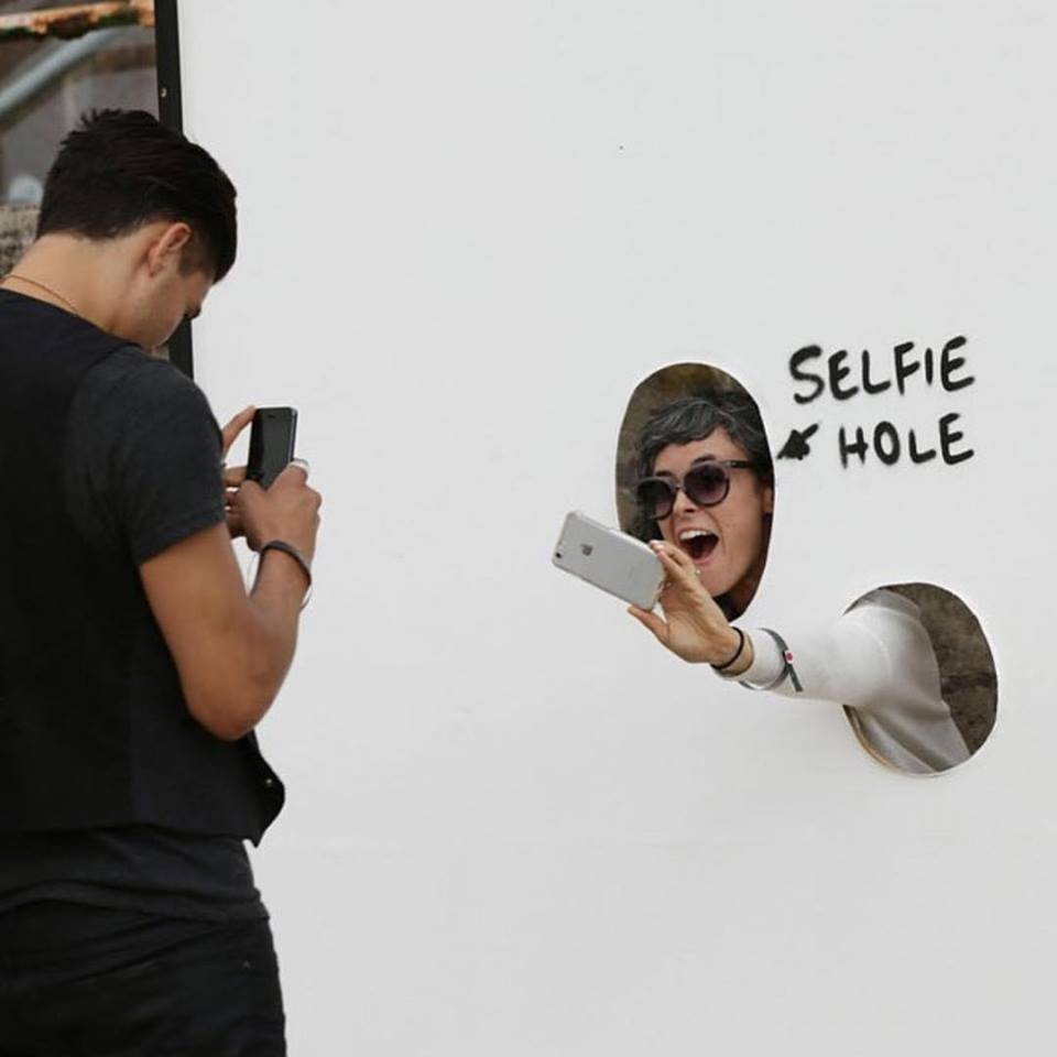 Lush - Selfie Hole / Image via the artist