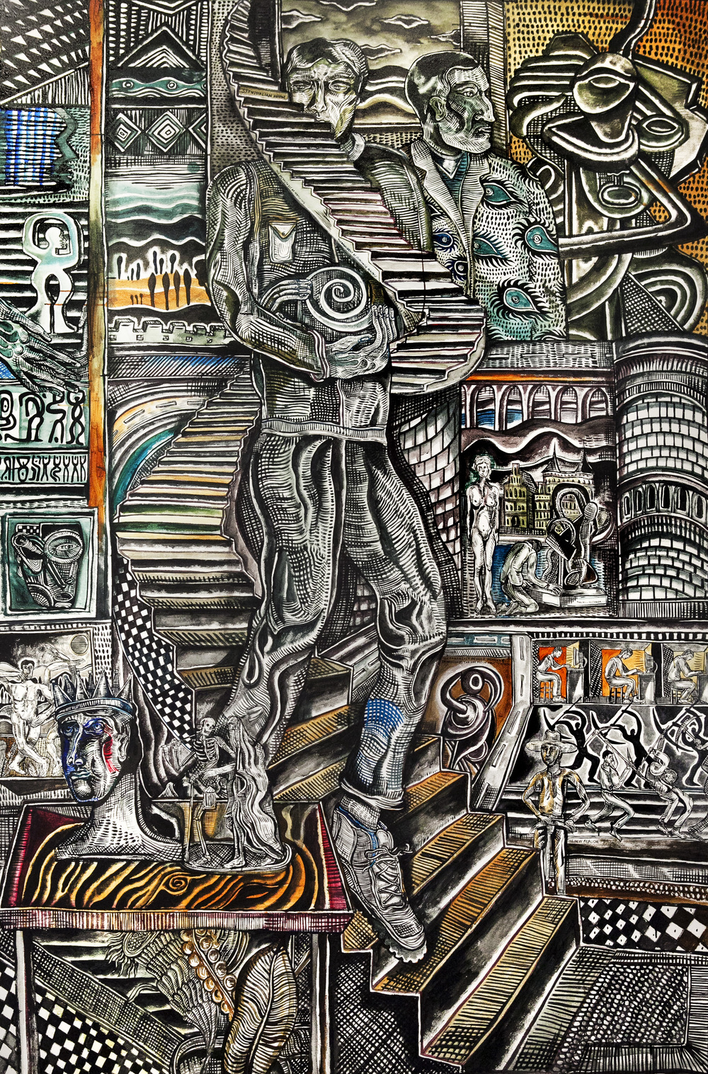 Zio Ziegler @ Condition - Athen B. Gallery