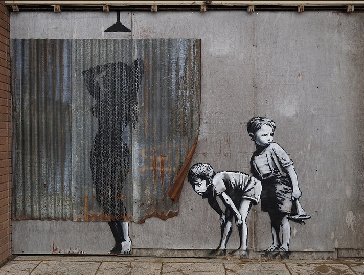 Banksy / Photo by Markus Baumgartner