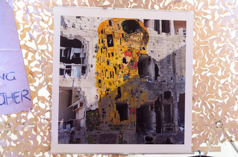 Tammam Azzam - Freedom Graffiti / Photo by Geo.Warriors